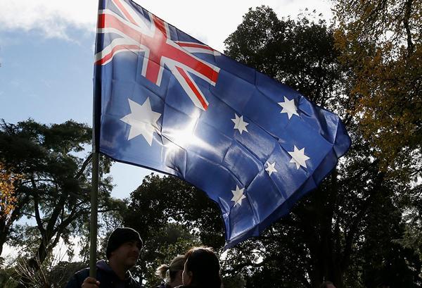 Австралия по-прежнему пытается выглядеть просто зелёной.